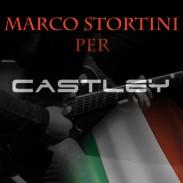 Marco Stortini diventa endorser ufficiale per Castley Guitars